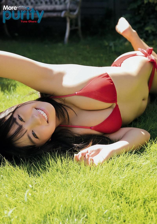 【大原優乃エロ画像】芸能活動10週年を迎えるFカップ美少女グラビアアイドル 87