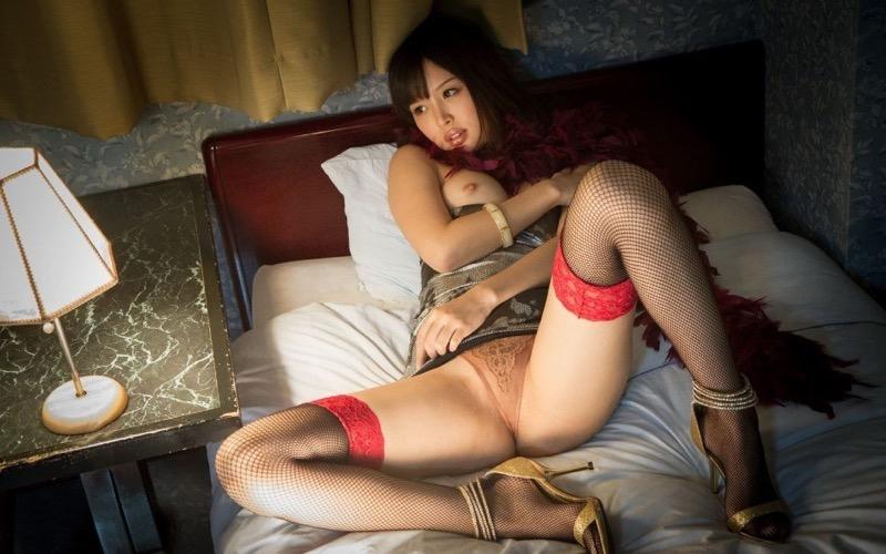 【葵つかさヘアヌード画像】グラビアアイドルからAV女優へ転身したEカップ巨乳美女 06