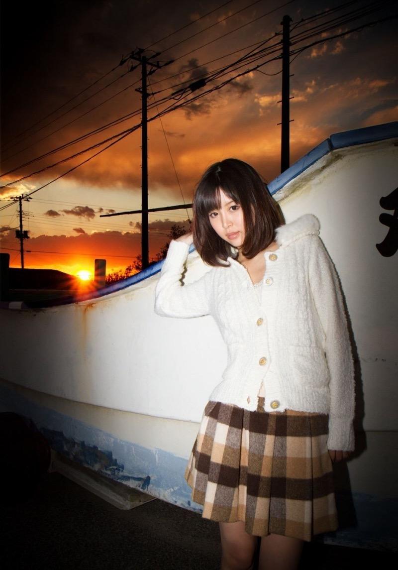 【葵つかさヘアヌード画像】グラビアアイドルからAV女優へ転身したEカップ巨乳美女 22