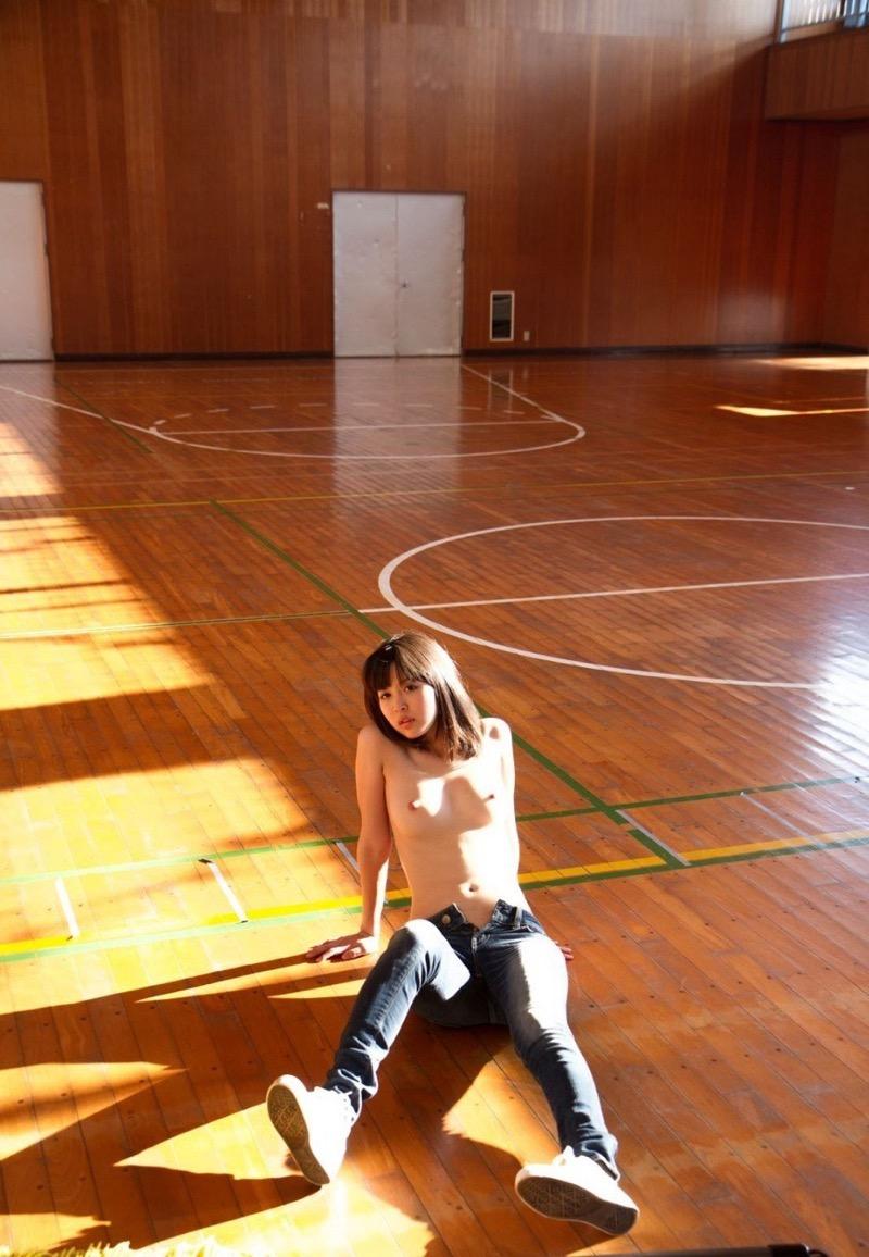 【葵つかさヘアヌード画像】グラビアアイドルからAV女優へ転身したEカップ巨乳美女 44