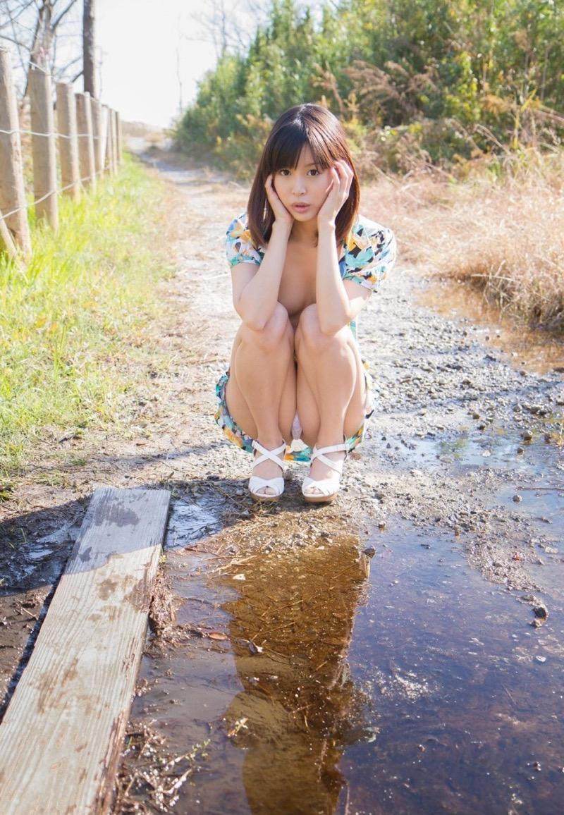 【葵つかさヘアヌード画像】グラビアアイドルからAV女優へ転身したEカップ巨乳美女 72