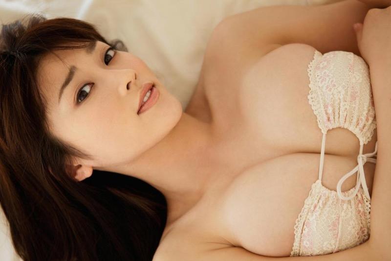 【原幹恵グラビア画像】突然休業してしまったGカップ巨乳美人女優のめちゃシコボディ! 10