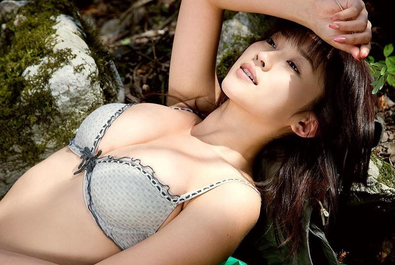【原幹恵グラビア画像】突然休業してしまったGカップ巨乳美人女優のめちゃシコボディ! 11