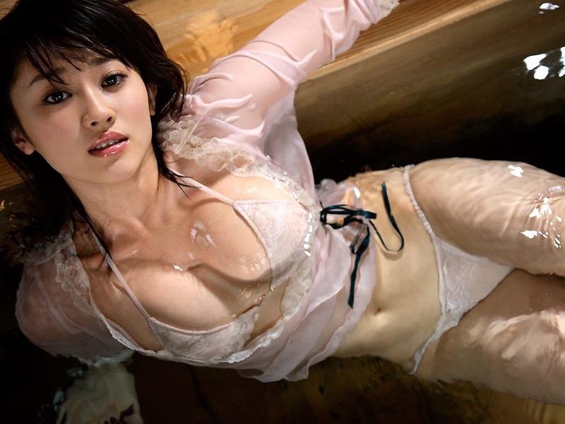 【原幹恵グラビア画像】突然休業してしまったGカップ巨乳美人女優のめちゃシコボディ! 12