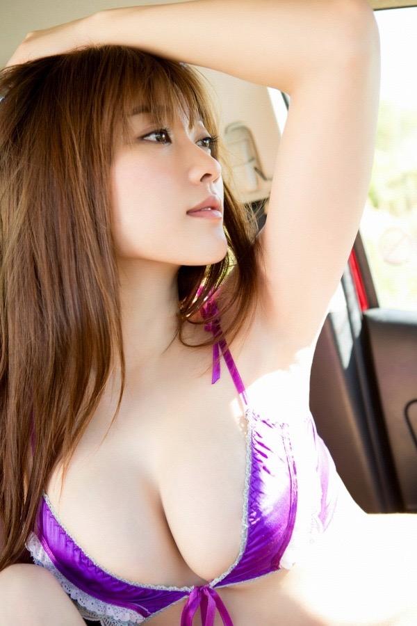 【原幹恵グラビア画像】突然休業してしまったGカップ巨乳美人女優のめちゃシコボディ! 19