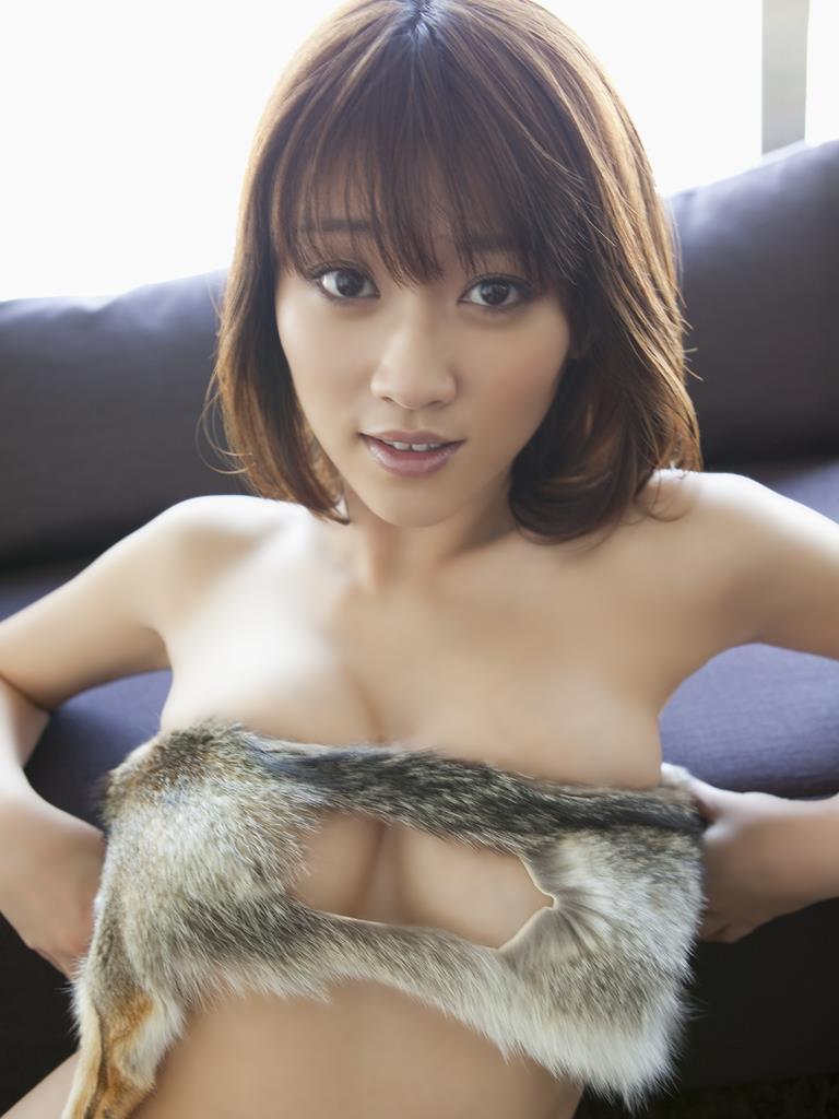 【原幹恵グラビア画像】突然休業してしまったGカップ巨乳美人女優のめちゃシコボディ! 30