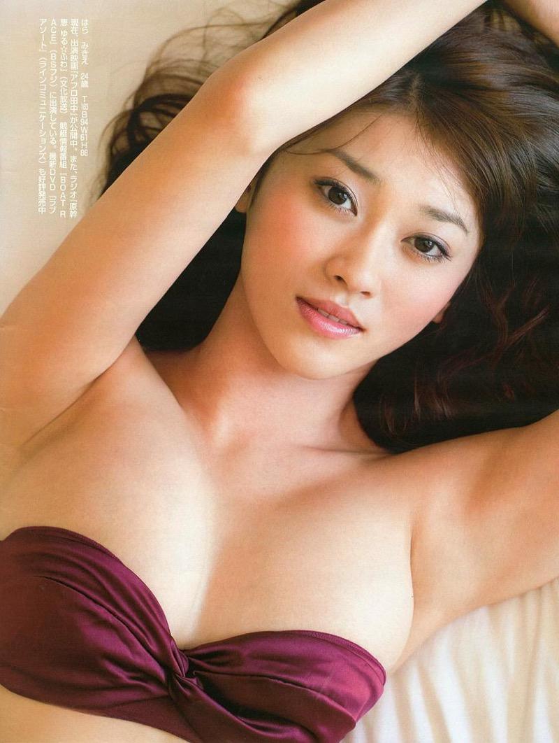 【原幹恵グラビア画像】突然休業してしまったGカップ巨乳美人女優のめちゃシコボディ! 38
