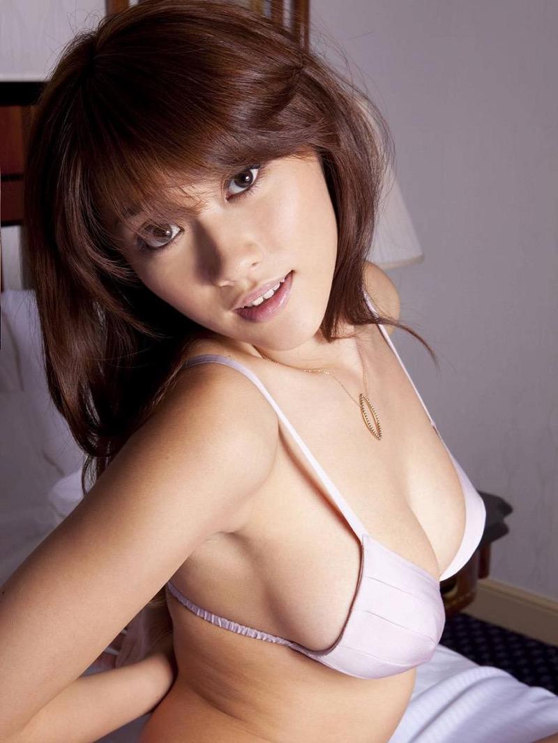 【原幹恵グラビア画像】突然休業してしまったGカップ巨乳美人女優のめちゃシコボディ! 57