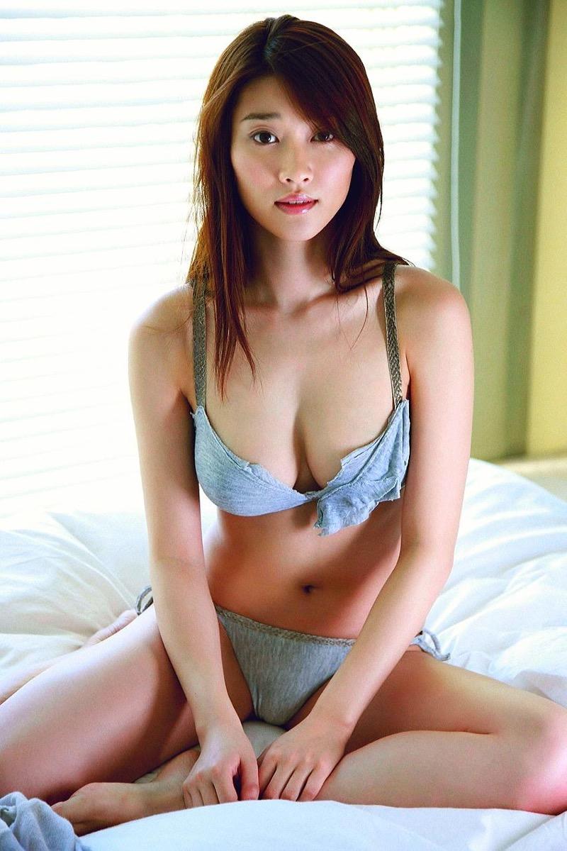 【原幹恵グラビア画像】突然休業してしまったGカップ巨乳美人女優のめちゃシコボディ! 59