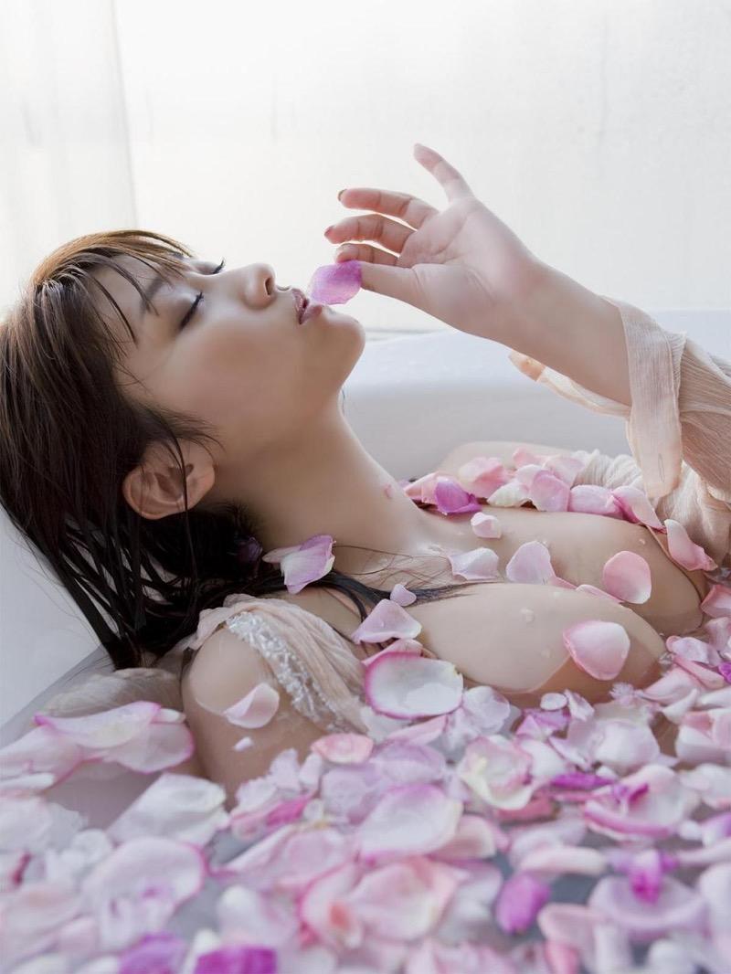 【原幹恵グラビア画像】突然休業してしまったGカップ巨乳美人女優のめちゃシコボディ! 74