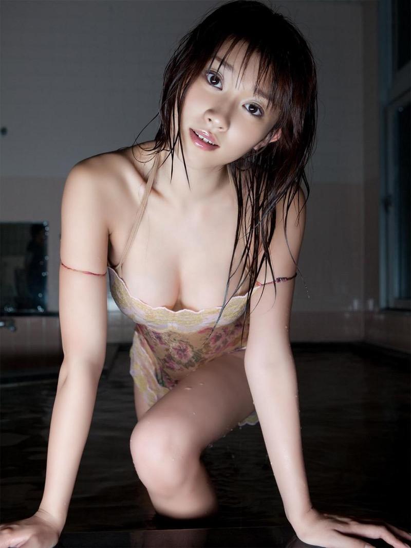 【原幹恵グラビア画像】突然休業してしまったGカップ巨乳美人女優のめちゃシコボディ! 75