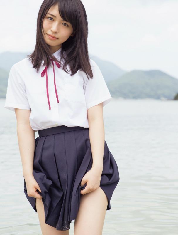 【長濱ねるグラビア画像】アイドルグループ欅坂46メンバーの美少女が魅せるビキニ姿! 04