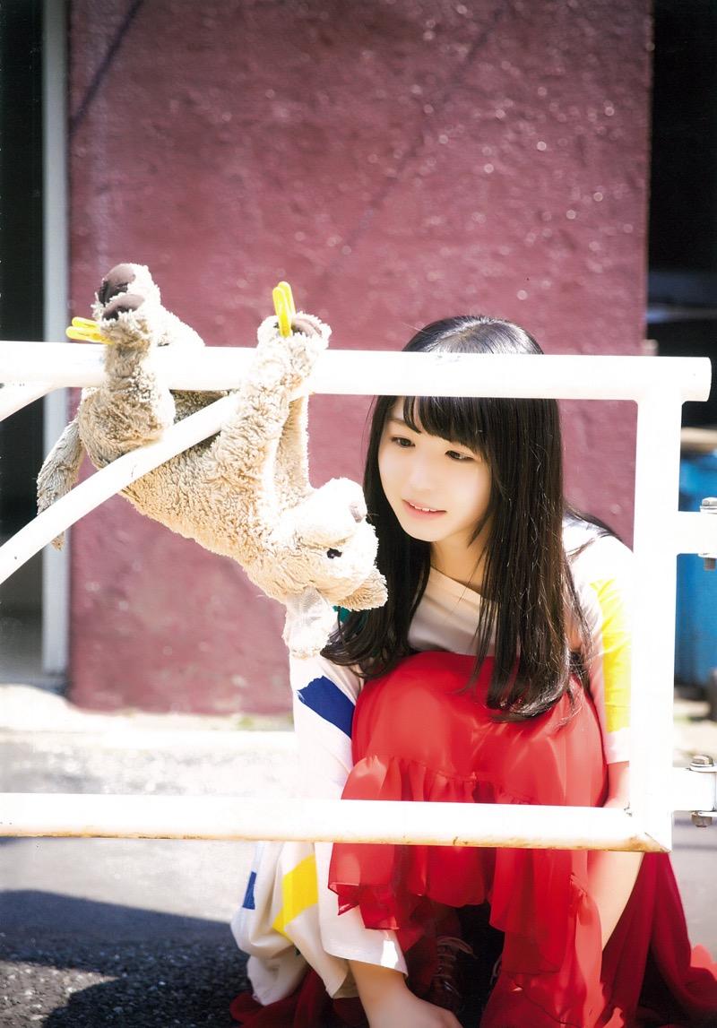 【長濱ねるグラビア画像】アイドルグループ欅坂46メンバーの美少女が魅せるビキニ姿! 70