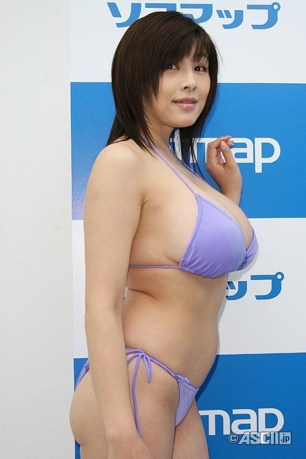 【松坂南エロ画像】バスト115cmのド迫力Lカップ超乳グラドルのヘアヌード! 42