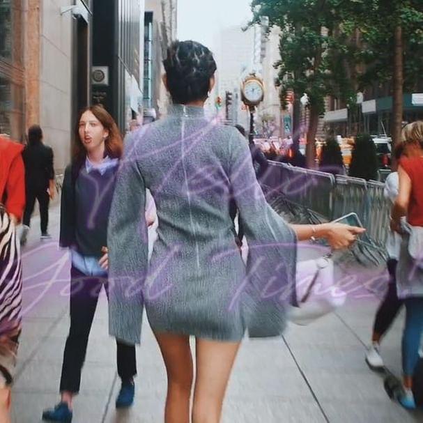 【森星キャプ画像】175cmの長身ボディが美しいファッションモデルのTVCM画像 52