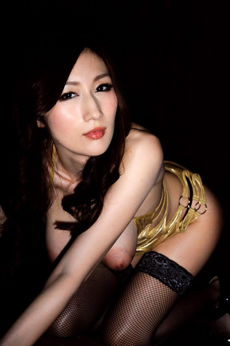 【JULIAグラビア画像】色白Jカップ美爆乳がめちゃシコな美人AV女優のヘアヌード! 46