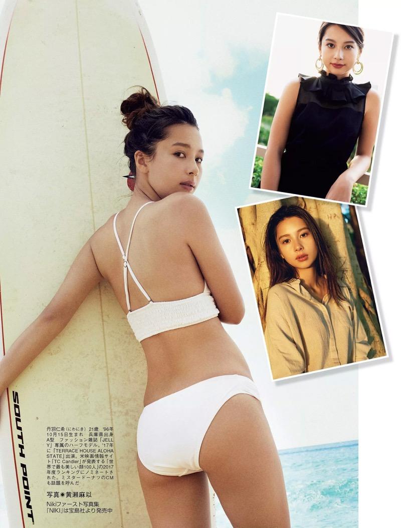 【Nikiエロ画像】アメリカ人ハーフのスタイル抜群なめちゃしこファッションモデル! 52