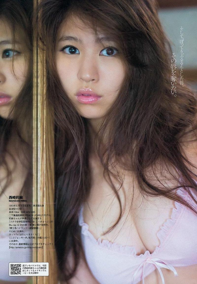 【西崎莉麻エロ画像】スレンダーなクビレボディにEカップ巨乳がエロいグラビアアイドル 48