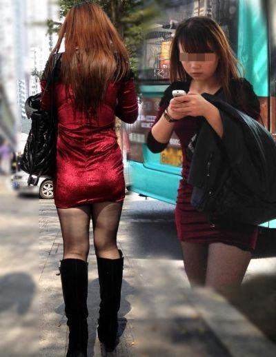 【ミニスカエロ画像】春になってパンチラも気にせずミニスカートに穿き替える素人娘たち 03