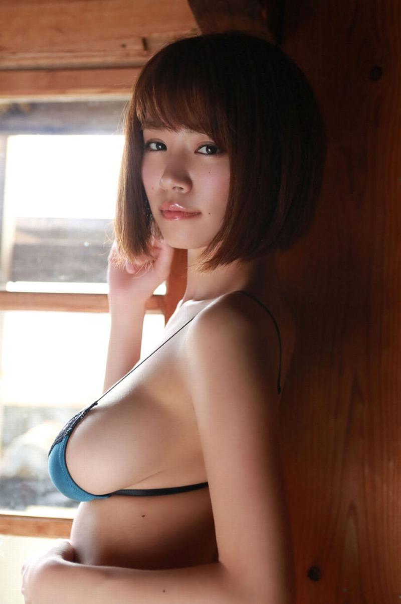 【菜乃花グラビア画像】同居している妹が激似で双子みたいで可愛いと話題の爆乳グラドル 29
