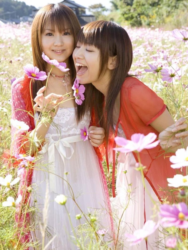【グラビア姉妹エロ画像】浜田翔子&浜田コウのお茶目でちょっとHなWグラビア画像 32