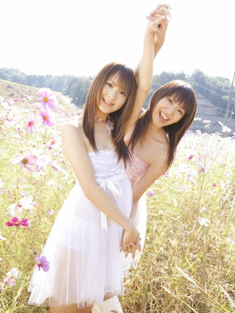 【グラビア姉妹エロ画像】浜田翔子&浜田コウのお茶目でちょっとHなWグラビア画像 38