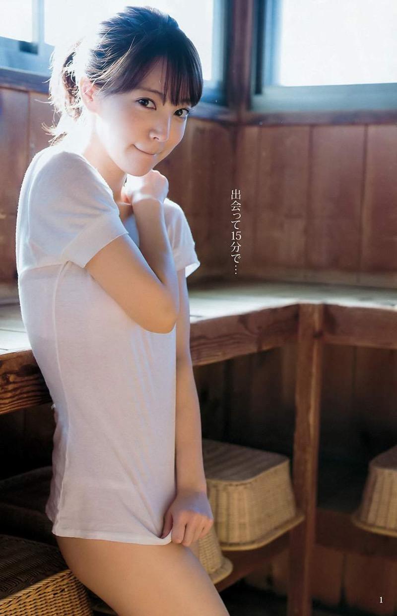 【麻亜里エロ画像】セクシーさの中にあどけなさも感じる表情とくびれボディががエロい! 15