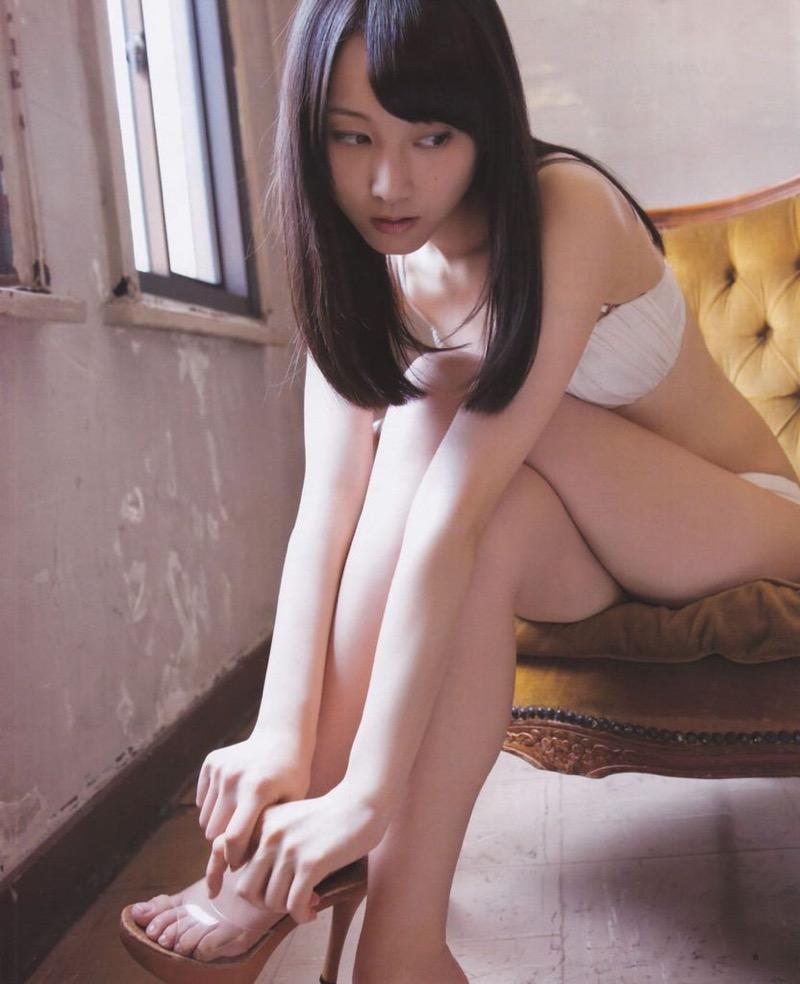 【松井玲奈グラビア画像】スレンダー好きにはたまらない細身でクビレもあるエロボディ! 44