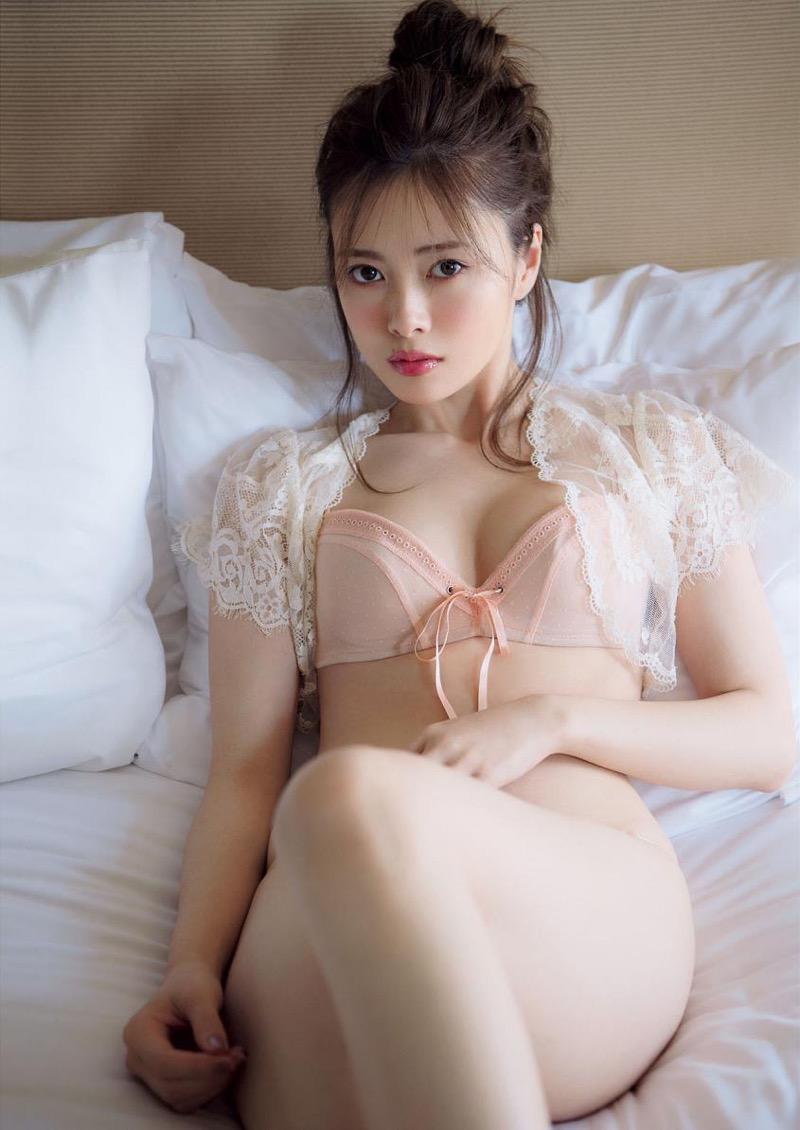 【白石麻衣グラビア画像】ウエスト59cmのくびれボディがエロい乃木坂46アイドル 19