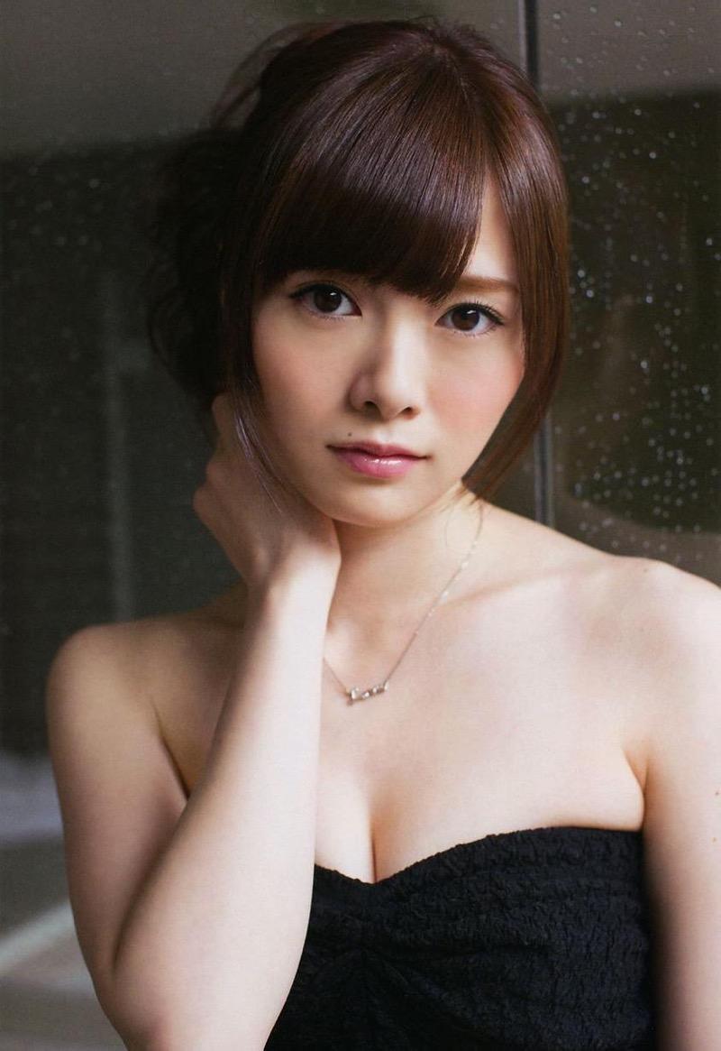 【白石麻衣グラビア画像】ウエスト59cmのくびれボディがエロい乃木坂46アイドル 26