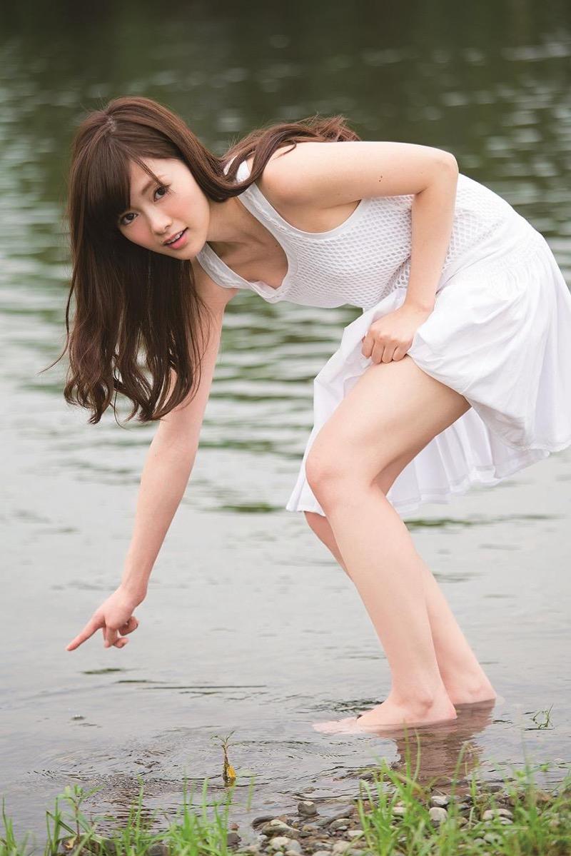 【白石麻衣グラビア画像】ウエスト59cmのくびれボディがエロい乃木坂46アイドル 34