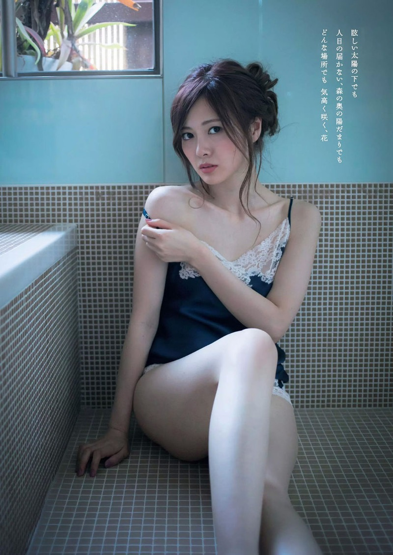 【白石麻衣グラビア画像】ウエスト59cmのくびれボディがエロい乃木坂46アイドル 40