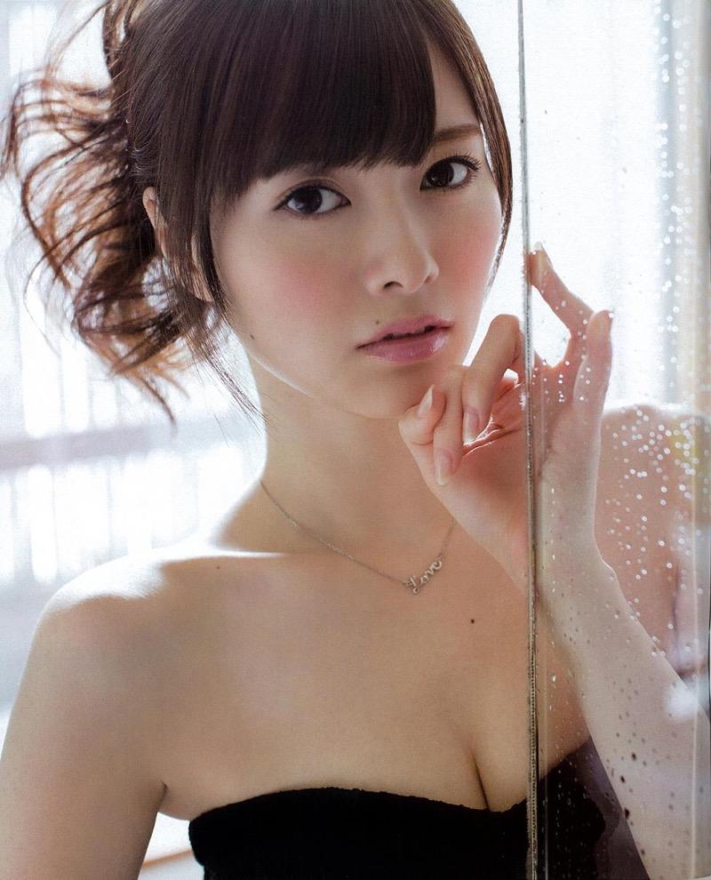 【白石麻衣グラビア画像】ウエスト59cmのくびれボディがエロい乃木坂46アイドル 42