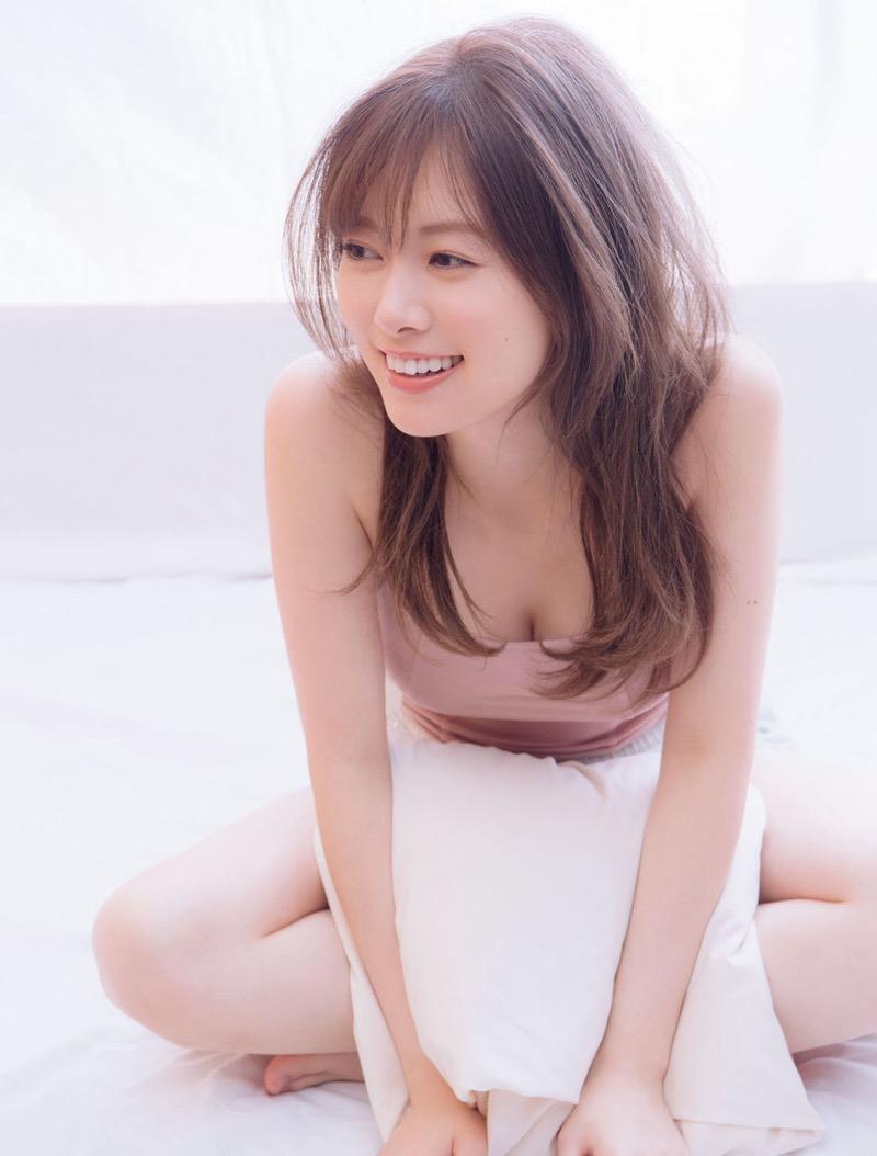 【白石麻衣グラビア画像】ウエスト59cmのくびれボディがエロい乃木坂46アイドル 49