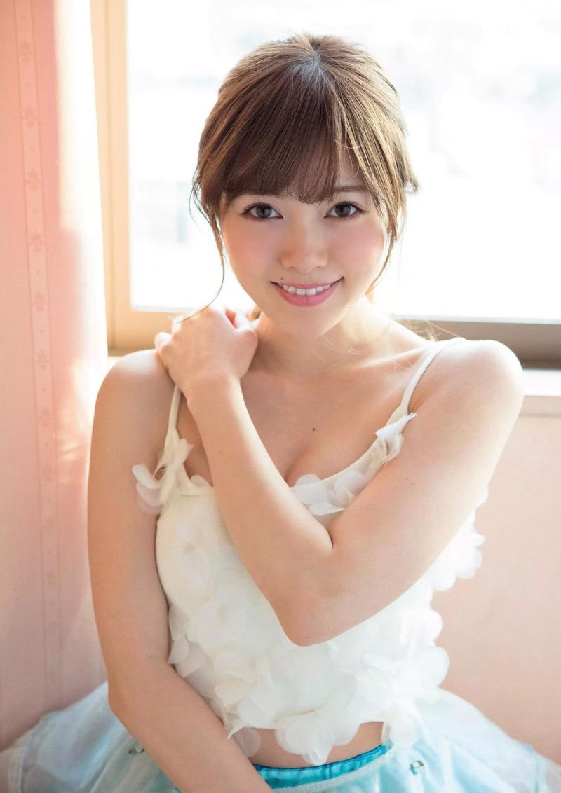 【白石麻衣グラビア画像】ウエスト59cmのくびれボディがエロい乃木坂46アイドル 64