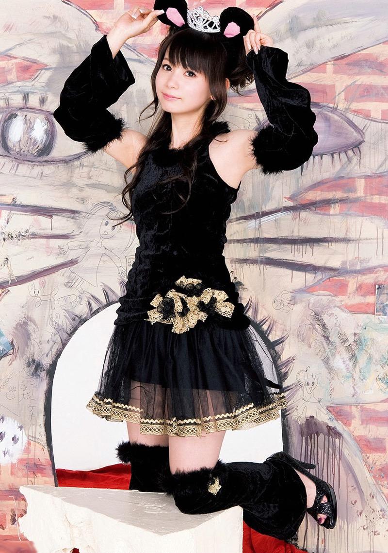 【コスプレエロ画像】可愛いケモノ耳カチューシャを着けてエッチなコスプレしちゃう女の子 65