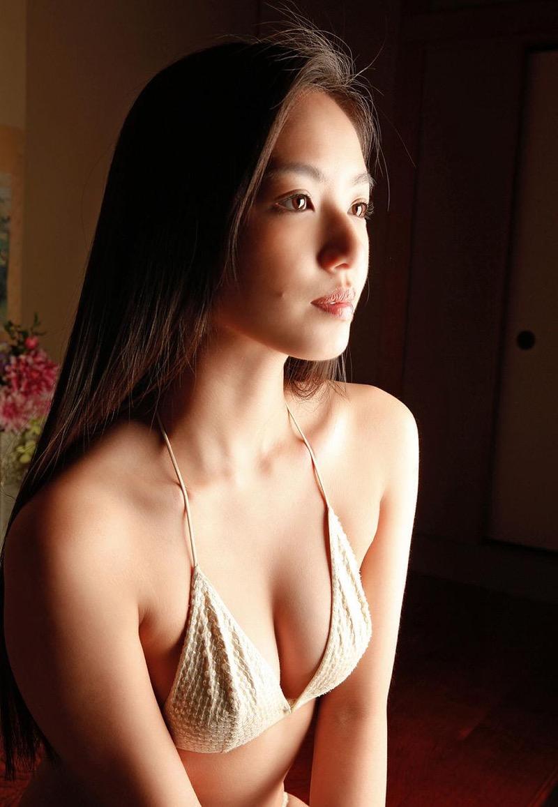 【間宮夕貴グラビア画像】グラビアアイドルとしても活動していたFカップ巨乳の美人女優 59