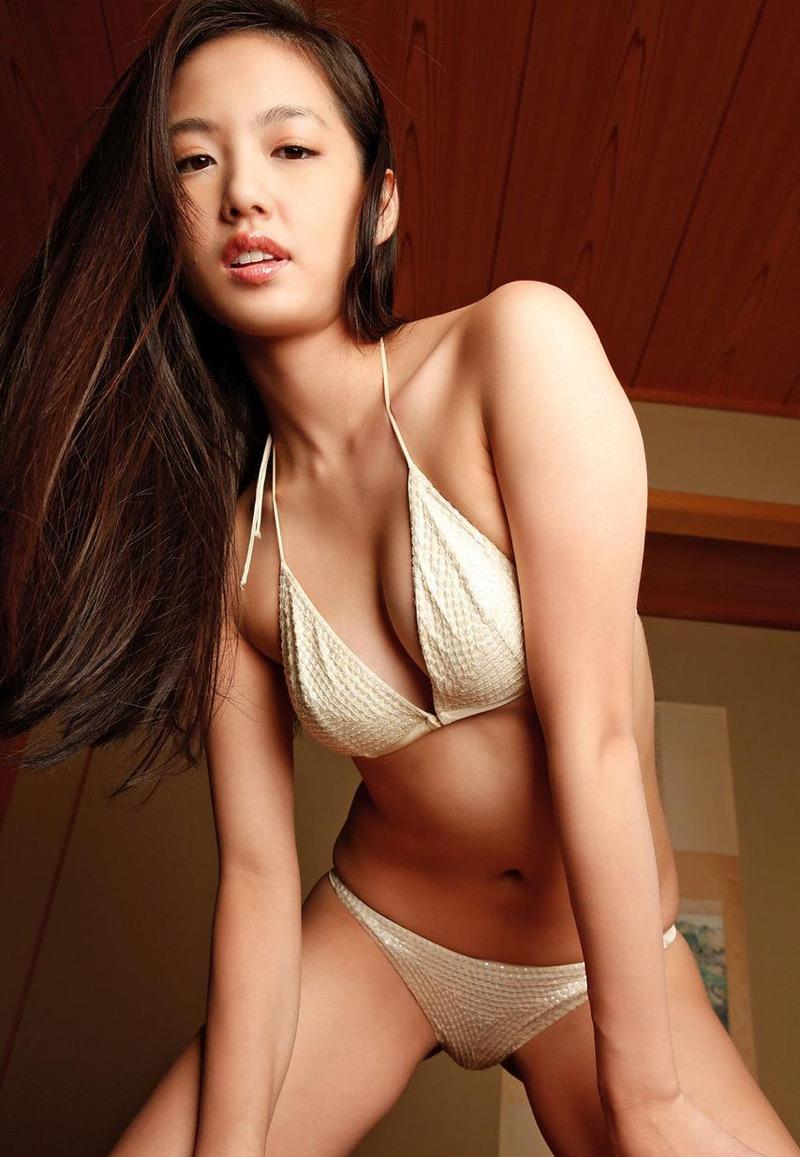 【間宮夕貴グラビア画像】グラビアアイドルとしても活動していたFカップ巨乳の美人女優 61