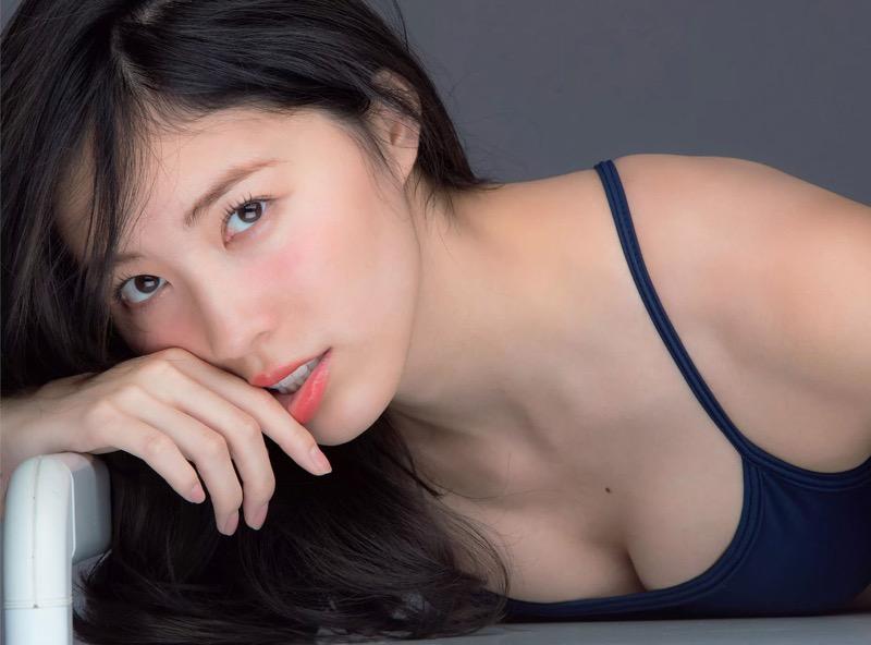 【松井珠理奈グラビア画像】SKE48所属アイドルの健全でビキニ姿が眩しいスレンダーボディ