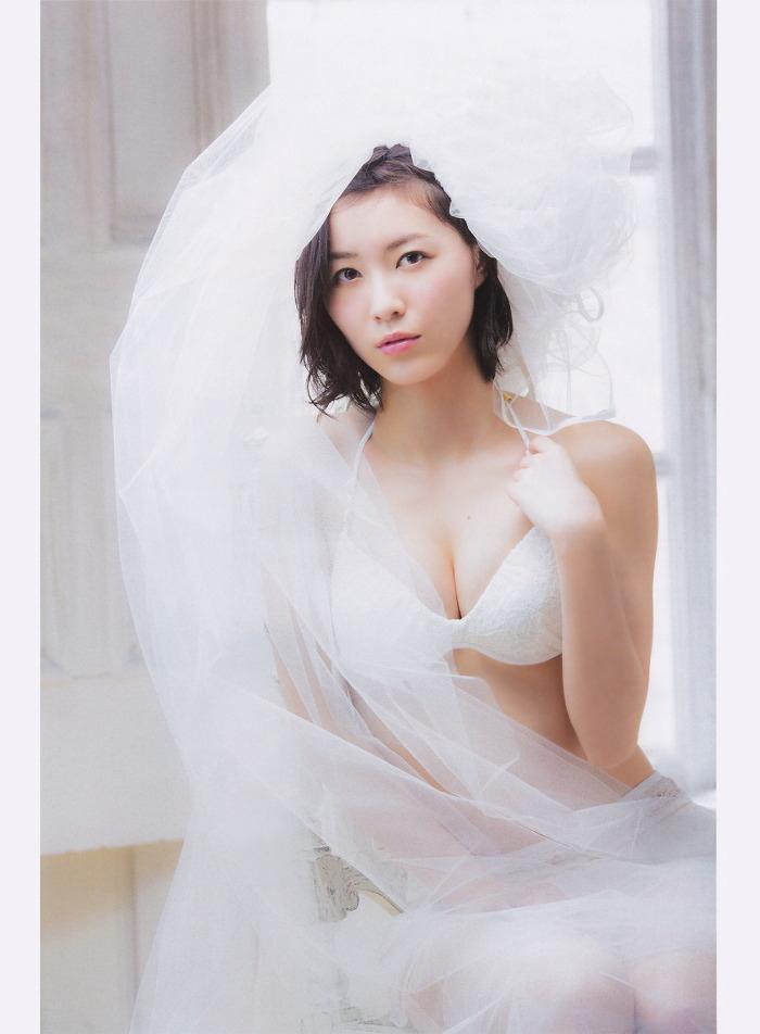 【松井珠理奈グラビア画像】SKE48所属アイドルの健全でビキニ姿が眩しいスレンダーボディ 11