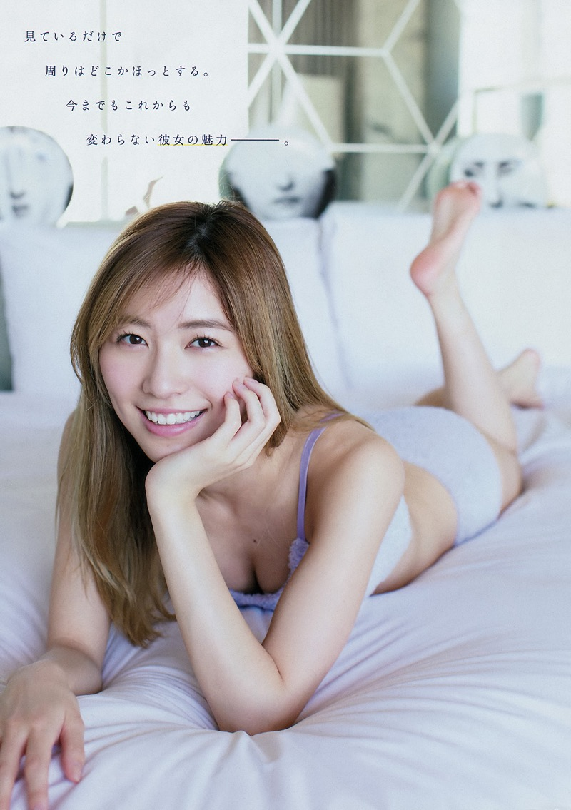 【松井珠理奈グラビア画像】SKE48所属アイドルの健全でビキニ姿が眩しいスレンダーボディ 77