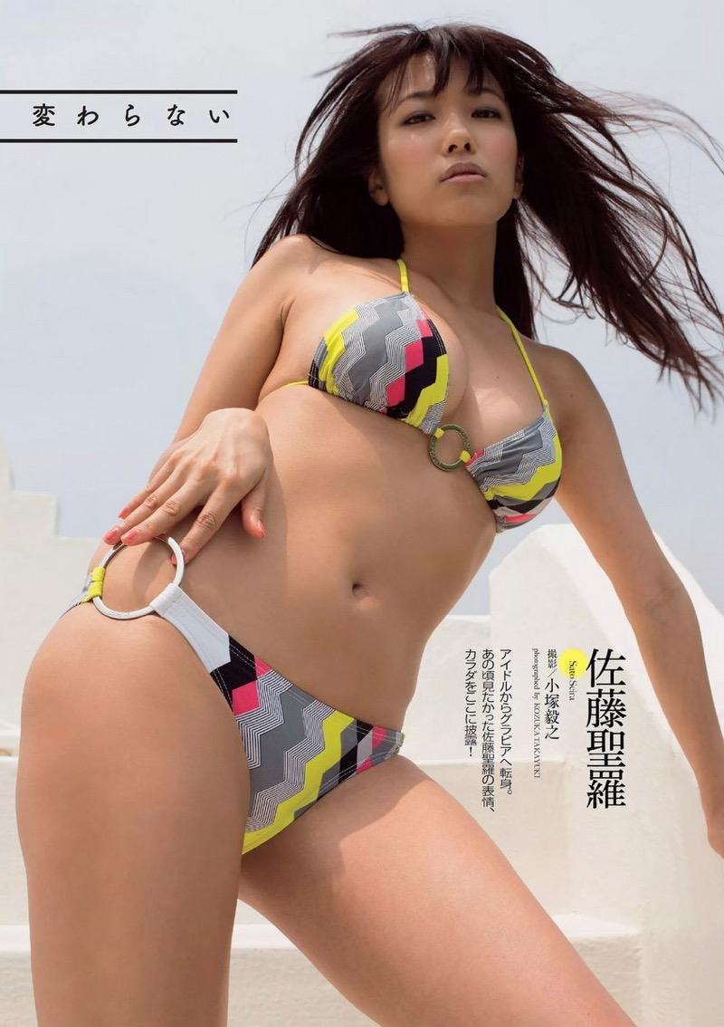 【佐藤聖羅グラビア画像】元SKE48アイドルとは思えない激シコ過ぎるエロ画像の数々! 22