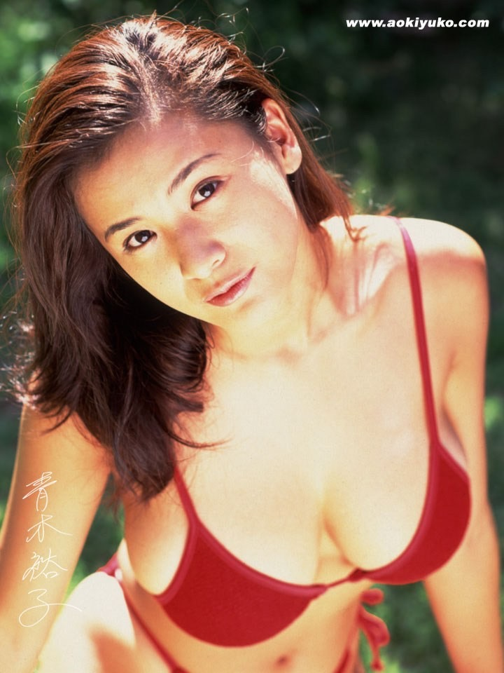 【青木裕子グラビア画像】Iカップ爆乳ボディで人気を博した平成の伝説級グラビアアイドルの現在は? 46