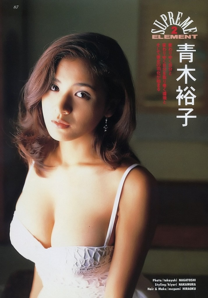 【青木裕子グラビア画像】Iカップ爆乳ボディで人気を博した平成の伝説級グラビアアイドルの現在は? 64
