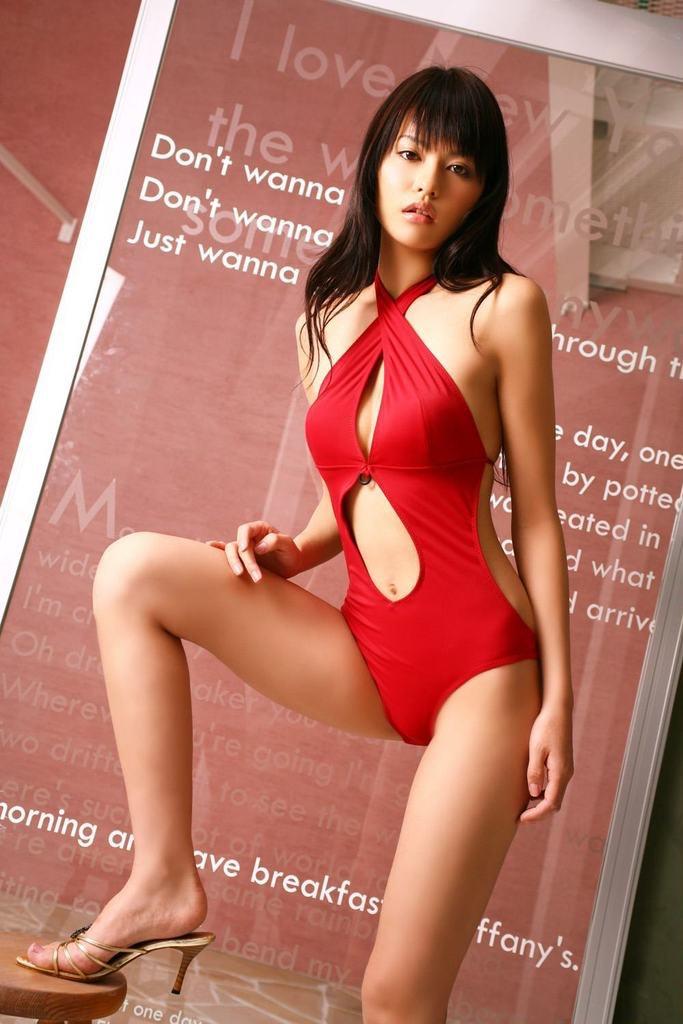 【白鳥百合子グラビア画像】女優として活躍を期待されつつ引退してしまったグラビアアイドル 08