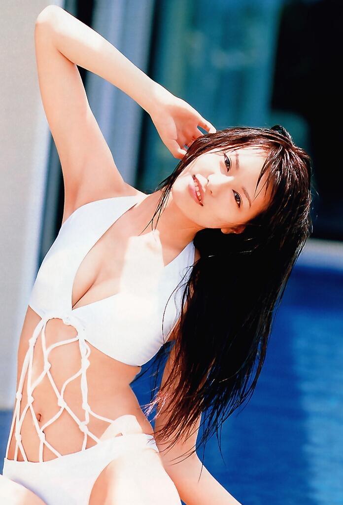 【白鳥百合子グラビア画像】女優として活躍を期待されつつ引退してしまったグラビアアイドル 18