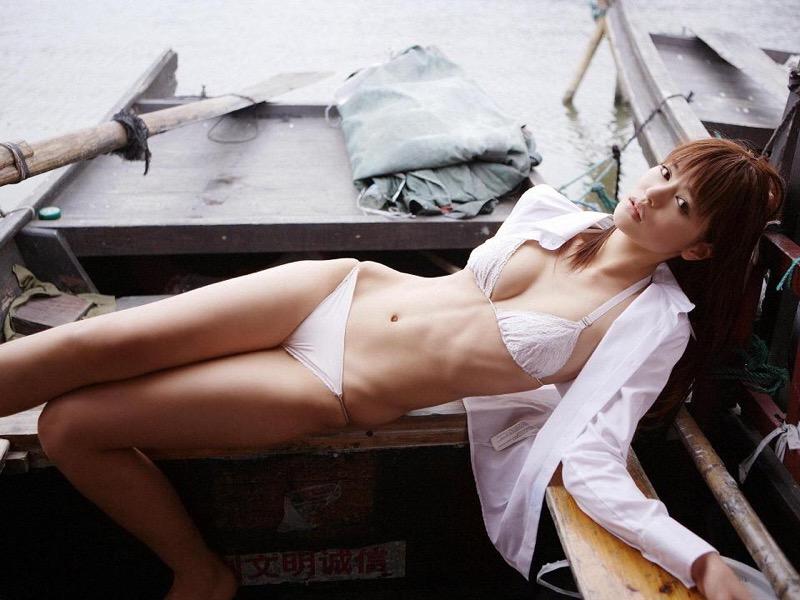 【白鳥百合子グラビア画像】女優として活躍を期待されつつ引退してしまったグラビアアイドル 70