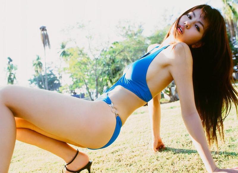 【白鳥百合子グラビア画像】女優として活躍を期待されつつ引退してしまったグラビアアイドル 71