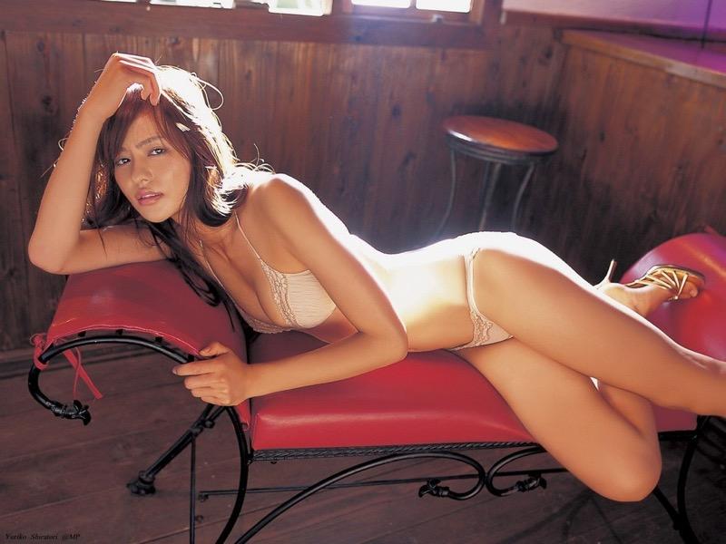 【白鳥百合子グラビア画像】女優として活躍を期待されつつ引退してしまったグラビアアイドル 73