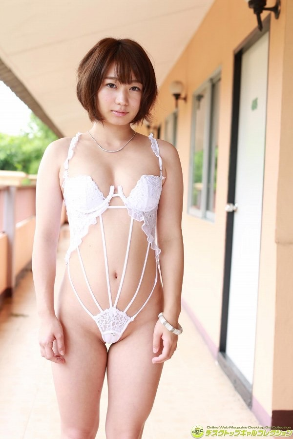 【さいとう雅子グラビア画像】可愛い顔立ちにむっちり美尻がとってもエロいグラビアアイドル 41